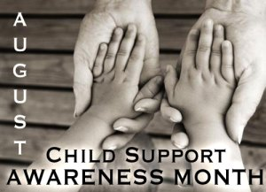 Child Support Awareness Month - what should my 8 month old son be doing?