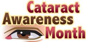 Cataract Awareness Month - August is the ONLY calender month without a MAJOR holiday: Why has it never been claimed for any