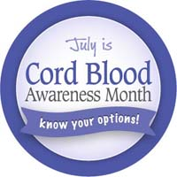 National Cord Blood Awareness Month
