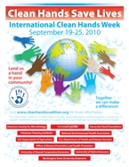 National Clean Hands Week - What are some great ideas for a brand new National Honor Society to begin with?