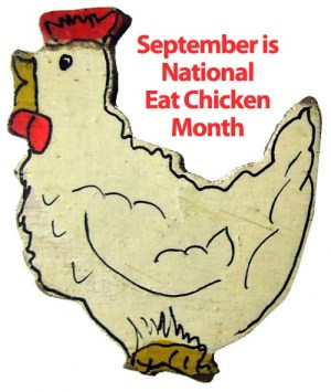 Eat Chicken Month - Can I train a four month old dog not to eat chickens?