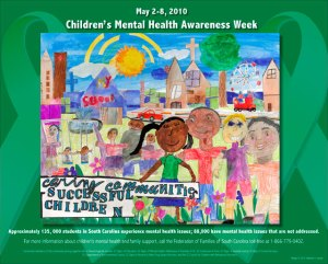Children's Mental Health Week - anxiety and panic attack = mental health?
