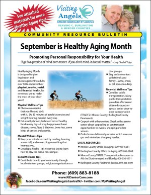September Is Healthy Aging Month - About 5 months to lose 50 pounds starting on MONDAY?