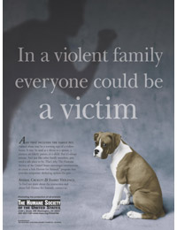 Animal CrueltyHuman Violence Awareness Week - Animal CrueltyHuman Violence