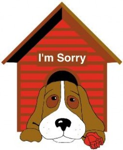 "National Doghouse Repairs Month - July is National ""Doghouse"