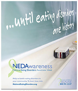 National Eating Disorders Awareness Week - I'm hosting National Eating Disorder Awareness week @ my school.