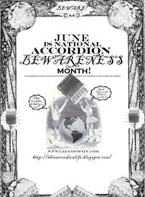 National Accordion Awareness Month