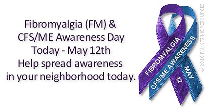 Today is National Fibromyalgia Awareness Day