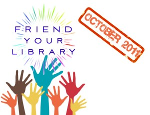 National Friends of Libraries Week - What should I do? Friend of a victim of Walking Nemonia?