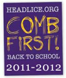 September is National Head Lice Prevention Month, Comb First! to ...