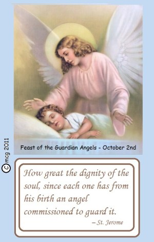 Guardian Angels Day - Guardian Angels?