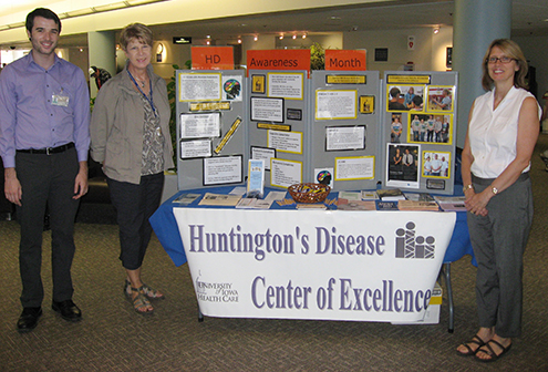 Huntington's Disease Society of America Center of Excellence
