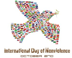 International Day of Non-violence - What is the theme of the 2012 International Day of Non Violence that falls on October 2, 2012?
