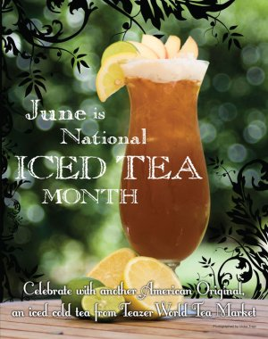 National Ice Tea Month - Stupid question about Starbucks tea?