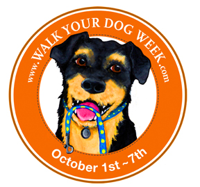National Walk Your Dog Week - question about taking my dog for walks.?