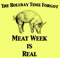 Meat Week - I haven't been eating meat for weeks?