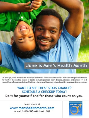 Mens Health Education and Awareness Month