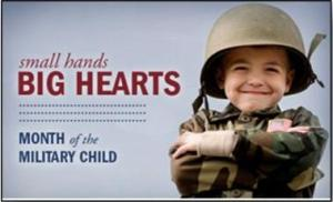 Month of the Military Child - Military Child Support?