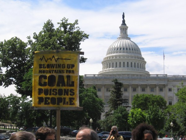 End Mountaintop Removal Week in Washington