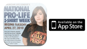 National Pro-Life T-shirt Week - TEENS: are you for are you against.?