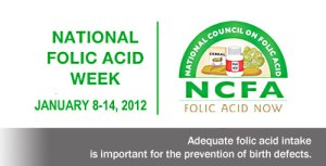 National Folic Acid Awareness Week - Folic Acid Awareness Week