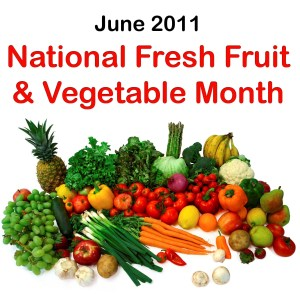 National Fruit and Veggies Month - is this healthy?