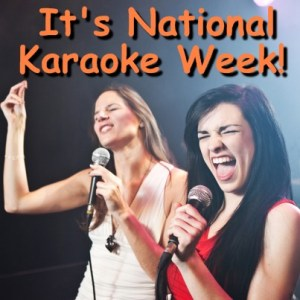 National Karaoke Week - Why have people forgotten Autism Awareness Month?