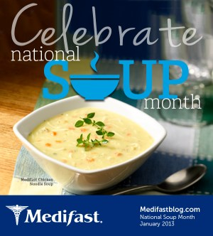 National Soup Month - What are the national month names in order?