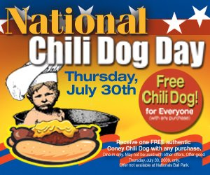 National Chili Dog Day - Kosher Menu, for 3 meals a day. HELP ?