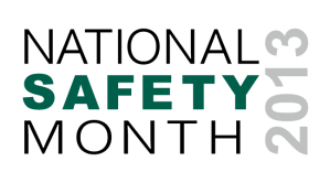 National Safety Month - Help with teaching safety class?