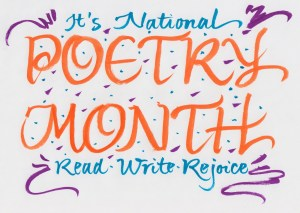 National Poetry Month - did you know april is national poetry month?