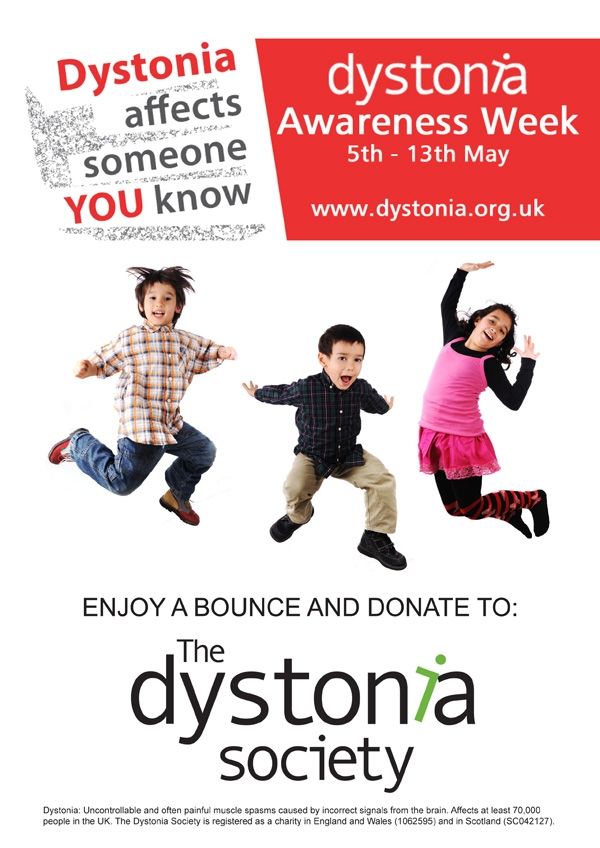Whitefriars - Bouncy Castle in support of Dystonia Awareness Week