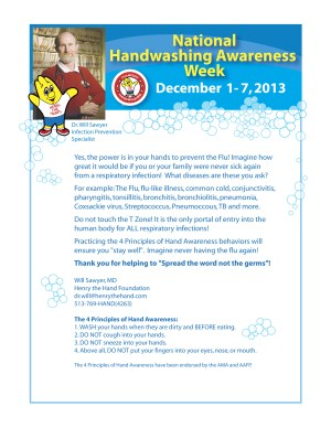 National Hand Washing Awareness Week
