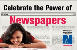 Newspaper in Education Week - help! newspaper reading habit.?