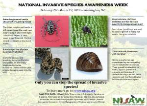 National Invasive Species Awareness Week - National Invasive Species