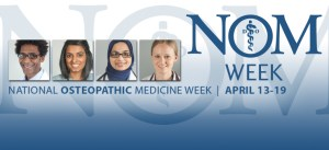 National Osteopathic Medicine Month - Help! Please! My feature depends on it! Should I.?