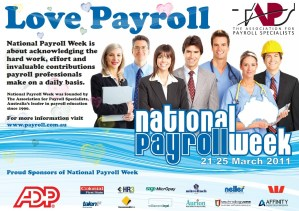 National Payroll Week - Why is the national sales tax idea not a fair one?