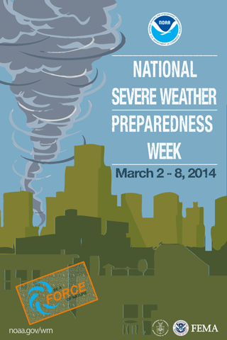 Be of a Force of Nature: National Severe Weather Preparedness Week