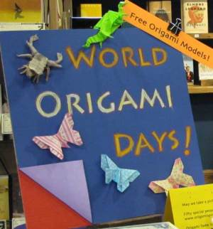 World Origami Days - What should I do All day!!!!!!!!!!!!!!!!!!!!!!!!?