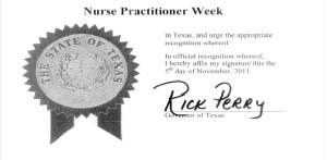 Pediatric Nurse Practioner Week - Are you a doctor.?