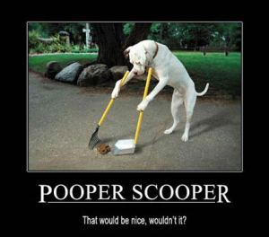 The APAWS Pooper Scooper  Week - Pooper Scooper Week. The