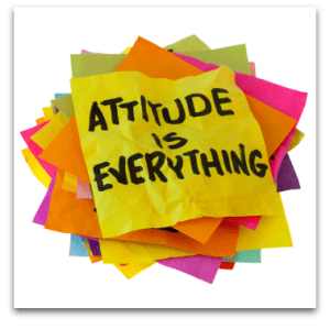 Positive Attitude Month - How can you have a positive attitiude about the stressors in your life?