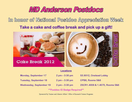 Postdoctoral Association - Postdoc Appreciation Week