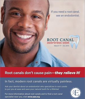 Root Canal Awareness Week - Remember that root canals