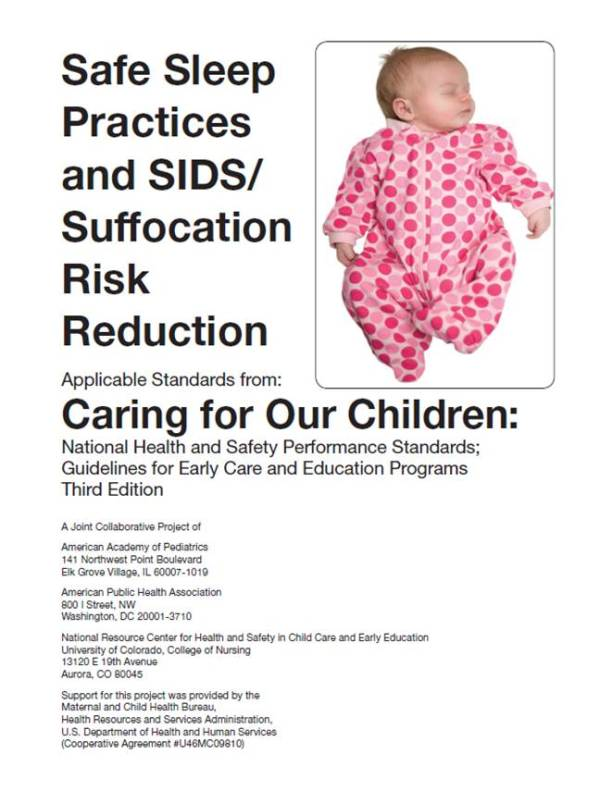 AAP: Healthy Child Care America: HCCA Back to Sleep Campaign
