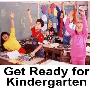 Get Ready for Kindergarten Month - Will this 5 year old do okay in kindergarten with out going to preschool?