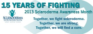 Scleroderma Awareness Month - Does Everyone know that this is National Scleroderma Awareness Month?