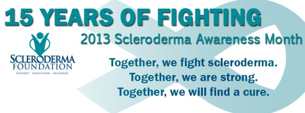 Does Everyone know that this is National Scleroderma Awareness Month?