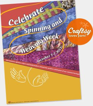Spinning & Weaving Week - Celebrate Spinning and Weaving