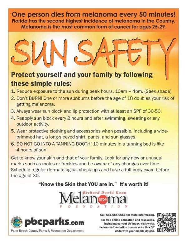 The Burning Facts - July is UV Awareness Month